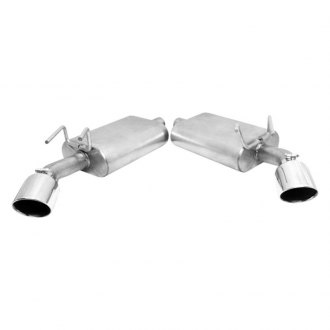Gibson® - American Muscle Car™ Dual Exhaust System with Straight Out The Back Exit