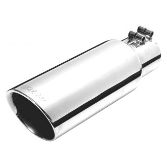 Gibson® - Stainless Steel Round Bolt-On Double-Wall Exhaust Tip
