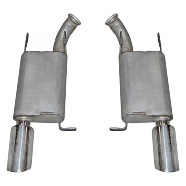 Gibson® - American Muscle Car™ Stainless Steel Dual Axle-Back Exhaust System