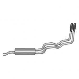 Gibson® - Dual Sport™ Cat-Back Exhaust System with Dual Side Exit