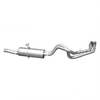 Gibson® - Dual Sport™ Cat-Back Exhaust System (Behind Rear Tire Exit)