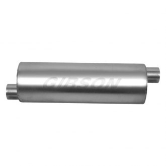 Gibson® - SFT Superflow™ Round Exhaust Muffler