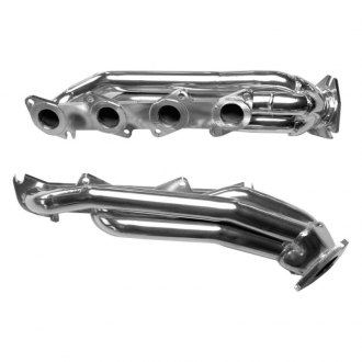 Gibson® - Performance Steel Chrome Plated Short Tube Exhaust Headers