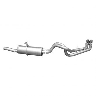 Gibson® - Deegan 38™ Stainless Steel Dual Cat-Back Exhaust System (Exit Behind Rear Tire)