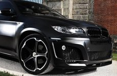 GIOVANNA DALAR-5 Black with Machined Stripe on BMW X6