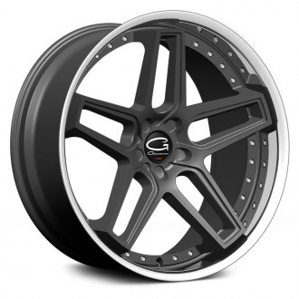 GIOVANNA® - AUSTIN Gloss Black with SS Lip