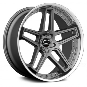 GIOVANNA® - AUSTIN Graphite Gray with SS Lip