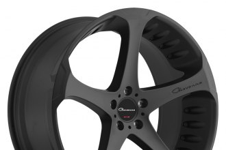 "GIOVANNA® - DALAR-5 Black (20"" x 8.5"", +35 Offset, 5x120.65 Bolt Pattern, 72.56mm Hub)"