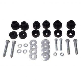 "Global West® - 0"" Front and Rear Body Mount Bushing Kit"