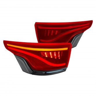 Glohh™ - GL-5i Dynamic Black/Red Sequential Fiber Optic LED Tail Lights