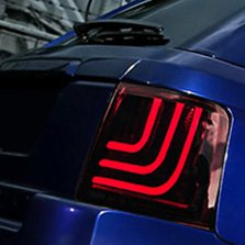 Glohh® - GL-3 Dynamic LED Tail Lights with switched On Turn Signal