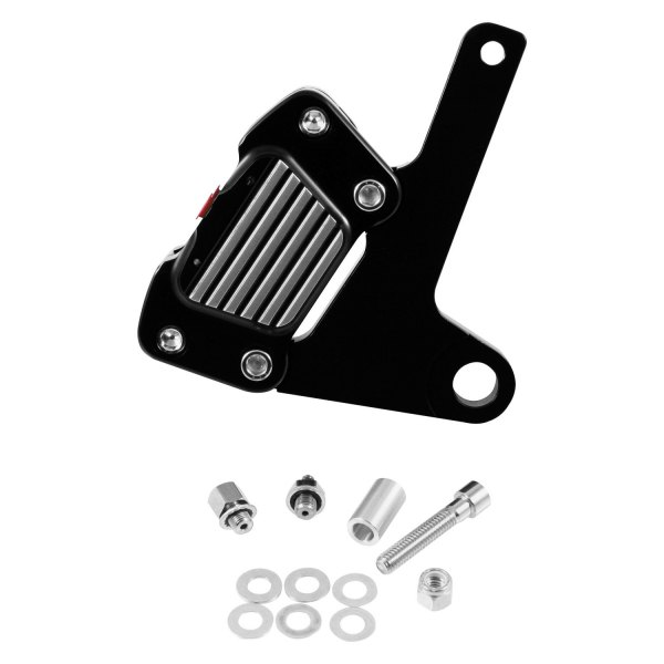 GMA Engineering® - 2-Piston Front Classic Black Contrast Caliper Kit