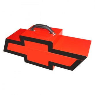 Go Boxes® - Chevy Portable Toolbox - Red with Black Border