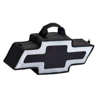 Go Boxes® - Chevy Canvas Bag (Black with Silver Border)