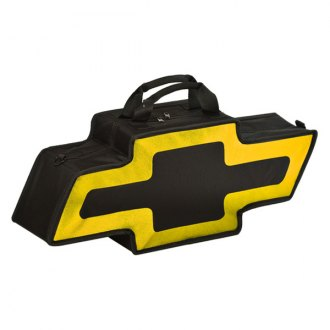 Go Boxes® - Chevy Canvas Bag (Black with Yellow Border)