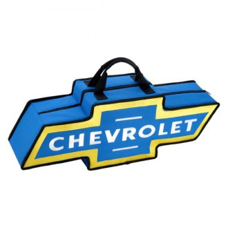 Go Boxes® - Chevy Canvas Bag (Blue with Yellow Border)