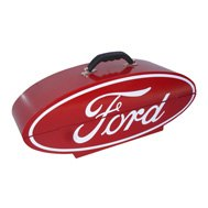 GO BOXES® - Ford Portable Toolbox - Red