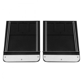 Go Industries® - Classic Style Mud Flap Set
