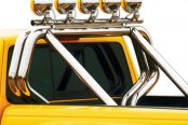 "Image may not reflect your exact vehicle! Go Rhino® - Chrome Mild Steel Front Main ""A"" Bar"
