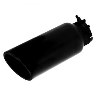 Go Rhino® - Round Rolled Edge Angle Cut Exhaust Tip