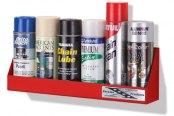Go Rhino® - Small White Aerosol Can Rack