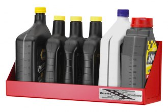Image may not reflect your exact vehicle! Go Rhino® - Small Red Oil Bottle Shelf