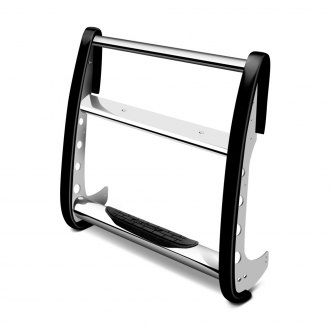 Go Rhino® - 3000 Series Chrome Grille Guard without Eurotube