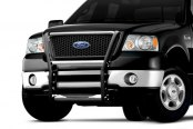 Go Rhino® - 3000 Series Contour Design Chrome Grille Guard