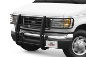Image may not reflect your exact vehicle! Go Rhino® - 3000 Series Black Grille Guard Installed