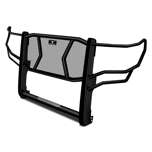 Image may not reflect your exact vehicle!Go Rhino® - Wrangler Black Grille Guard
