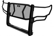 Image may not reflect your exact vehicle! Go Rhino® - Wrangler Black Grille Guard