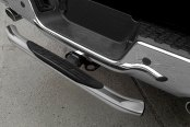 "Go Rhino® - 3"" Hitch Step Installed - Chrome"
