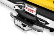 Go Rhino® - Dominator Stainless Steel Hitch Step - Installed