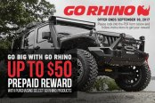Go Rhino Special Offers