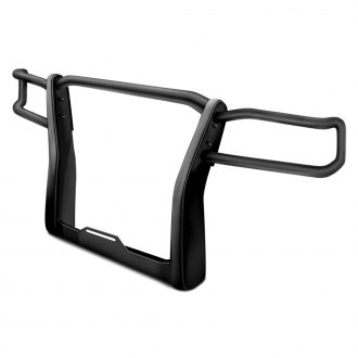 Go Rhino® - Black Winch Mount Grille Guard