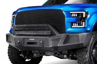 Go Rhino® - BR5 Replacement Full Width Front HD Black Bumper