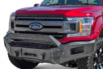 Go Rhino® 24395T - BR5 5 Replacement Full Width Black Front Winch HD Bumper