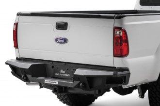 Go Rhino® - BR20 Replacement Full Width Black Rear HD Bumper