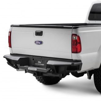 Go Rhino® - BR20 Replacement Full Width Black Rear HD Bumper