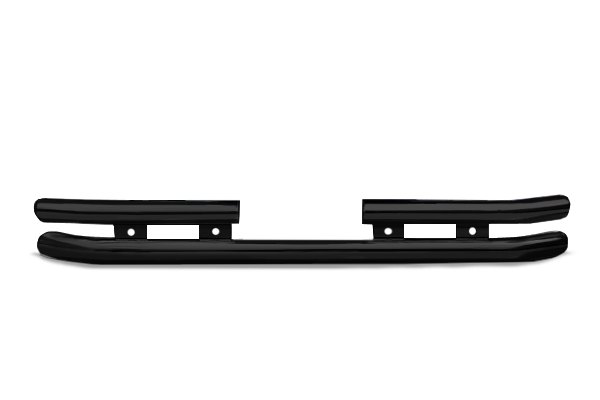 "Go Rhino® - 3"" Black Powdercoat Rear Bumper"