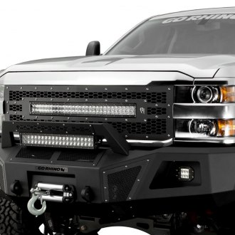 Go Rhino® - BR10 Full Width Front HD Winch Bumper with Hoop