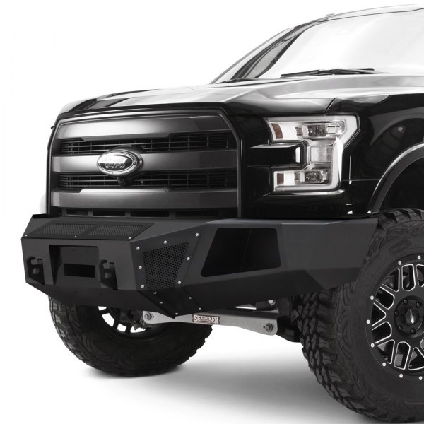 Road Rhino Bumper >> Go Rhino® - Chevy Silverado 2014-2015 BR5 Replacement Full Width Black Front Winch HD Bumper