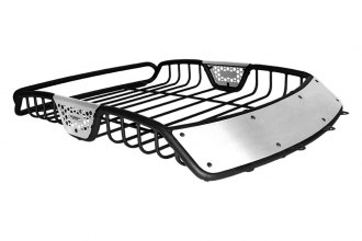 "Go Rhino® 59007T - 60"" SR10 Series Roof Rack with Brushed Stainless Fairings"