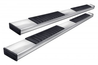 "Go Rhino® 6862418080PS - 6"" OE Xtreme II Polished Rectangular Side Steps"