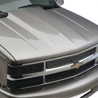Good Hood® - Classic Cowl Induction Fiberglass Hood (Unpainted)