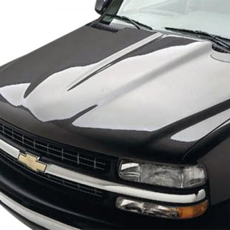 Good Hood® - C5-Style Cowl Induction Fiberglass Hood (Unpainted)