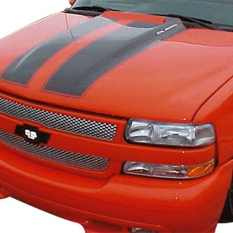 Good Hood® - SS-Style Flipper Door Functional Cowl Induction Hood (Unpainted)