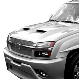 Good Hood® - Twin Scoop Ram Air Fiberglass Hood (Unpainted)