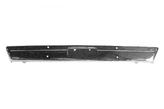 Goodmark® GMK2244000722 - Front Chrome Bumper Face Bar