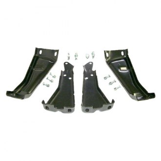 Goodmark® - Rear Driver and Passenger Side Bumper Bracket Set